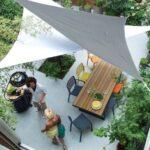 Toldos flotantes para terraza y jardín