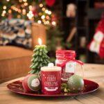 Velas decorativas para navidad