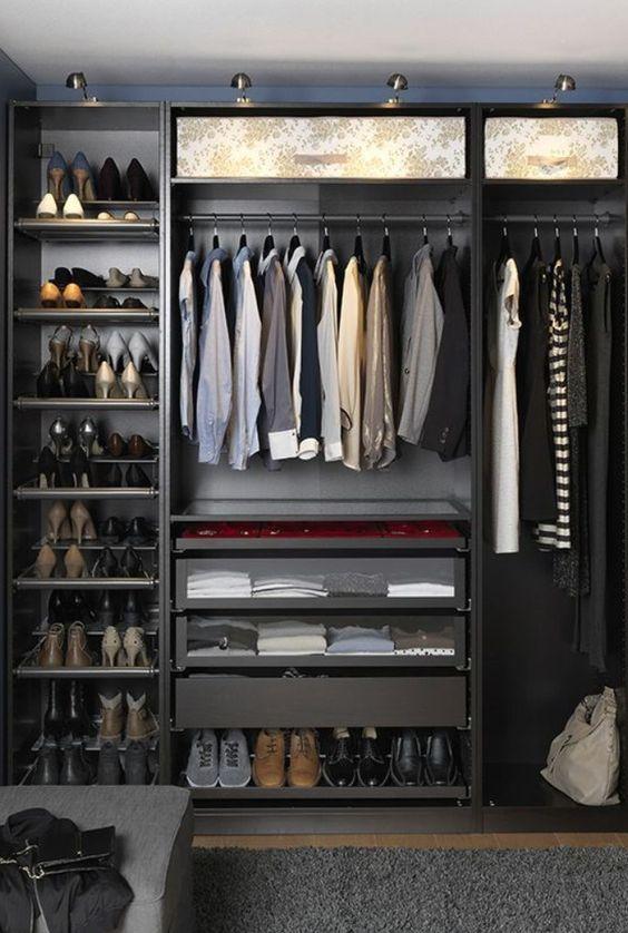 Ideas de closets modernos pequeños