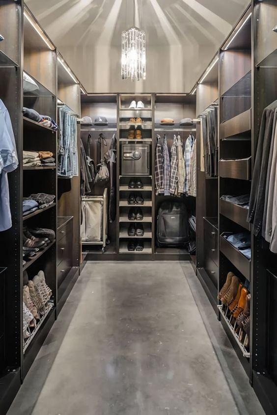 Closets modernos tipo vestidor