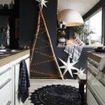 Decoración para navidad en color negro