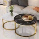 Ideas para incluir el mármol y color dorado en tu decoración