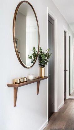 Recibidores modernos con espejos