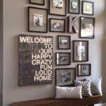 Añade textura a las paredes de tu recibidor