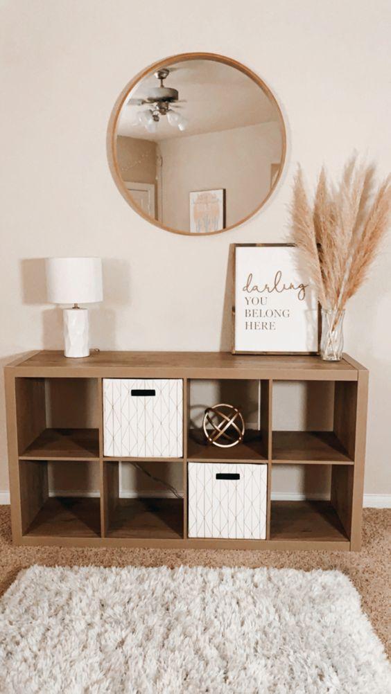 Consolas de madera para tu recibidor