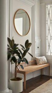 Materiales naturales para el recibidor de tu casa