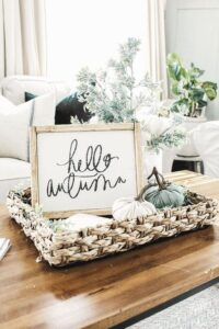 Como decorar la entrada de tu casa en otoño