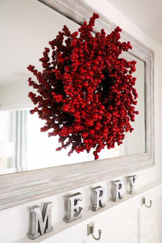 Domina la decoración navideña en color rojo