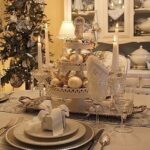 Decoración de navidad con velas