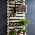 Diseños modernos de repisas para el jardín