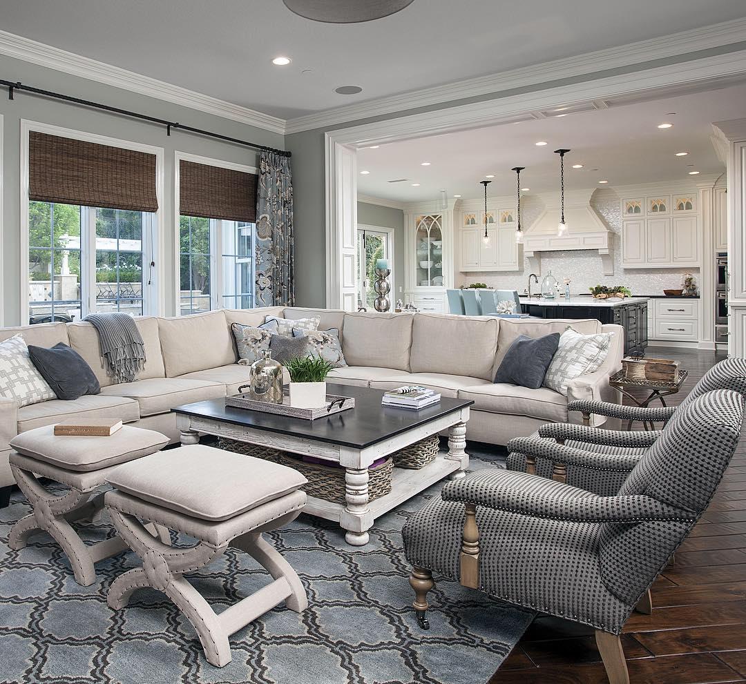 Ideas de colores para decorar salas de estar